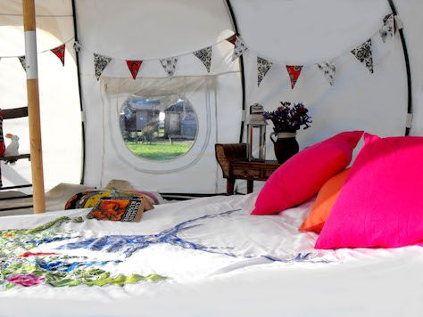 LUXURY LOTUS TENT FOR FOUR - Wilderness Festival  ITS OURS WE ARE GOING !!!! xx