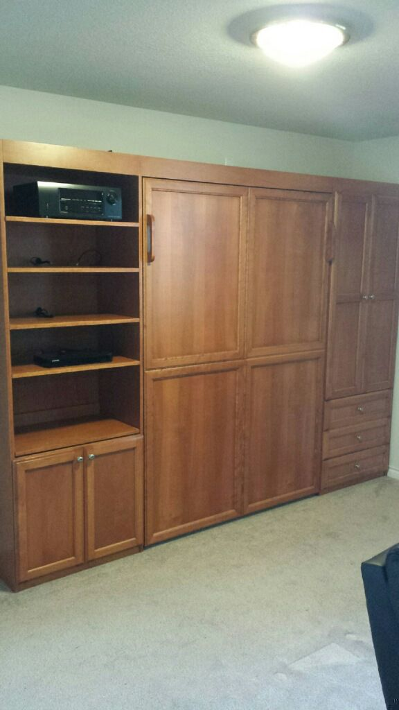 Found A Perfect Murphy Bed On Craigslist 500 00 With Matress