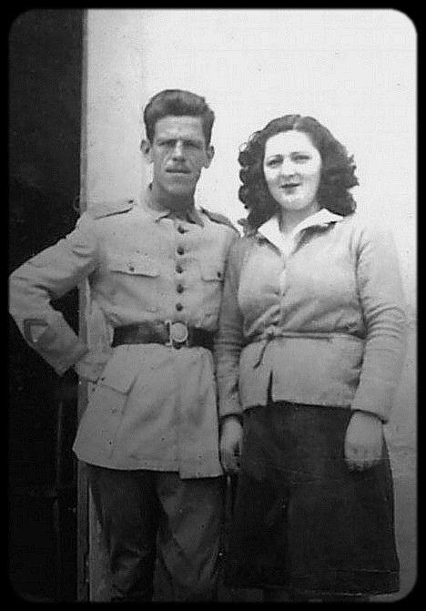 Meus avós maternos durante a Segunda Guerra Mundial