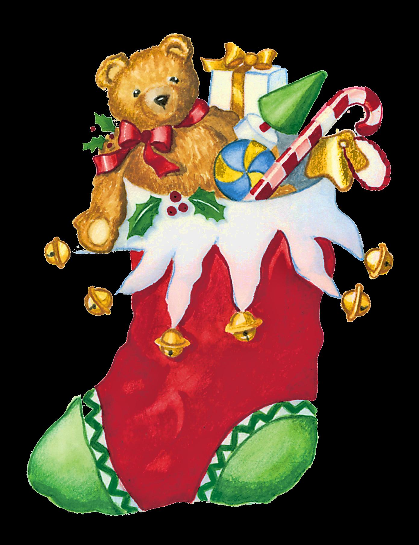 Christmas Stocking Clip Art Free Christmas Stocking With