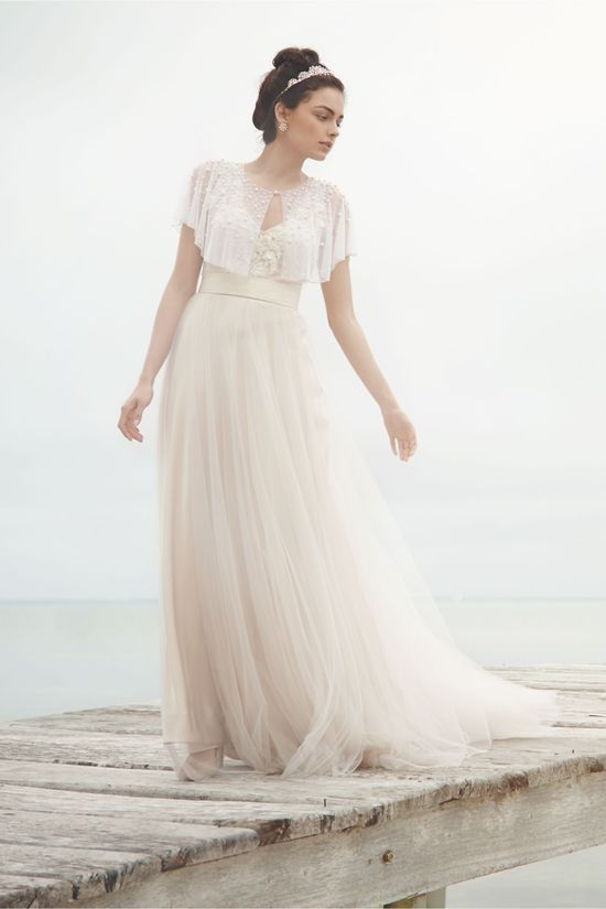 Onyx Gown from BHLDN | The Romantic Bride | Pinterest | Gowns ...