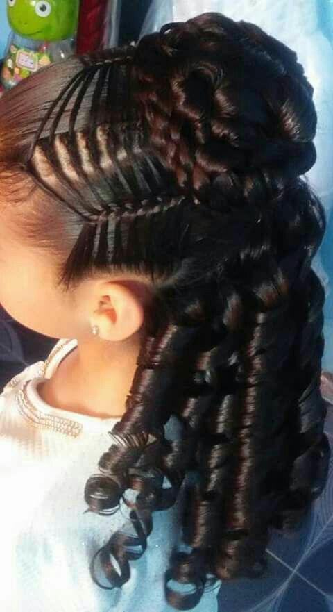 Peinados Fernanda Pe Peinados Infantiles Peinados Peinados Con Trenzas