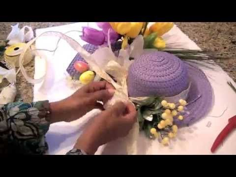 Diy Dollar Tree Easter Wreath  Easy Diy Equals Fun  Youtube