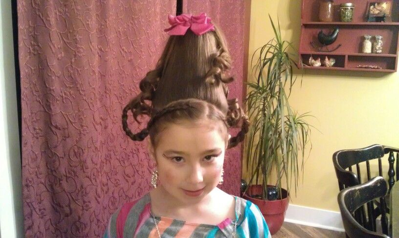 how to make cindy lou who hair