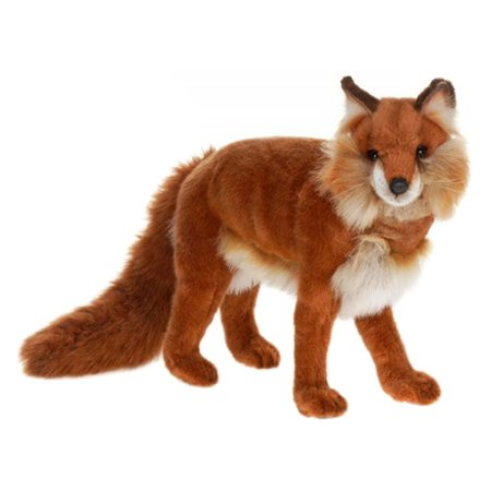 Toys Fox Stuffed Animal Red Fox Realistic Stuffed Animals