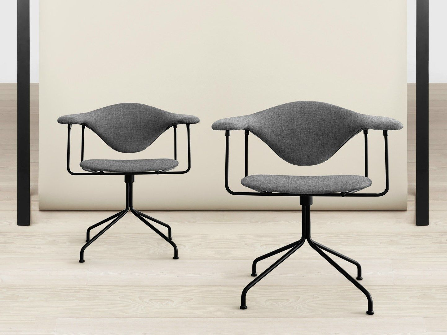 Masculo office chair, Gubi Chair, Dining table chairs