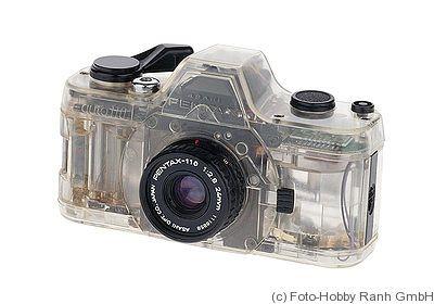 Asahi: Pentax Auto 110 Transparent camera