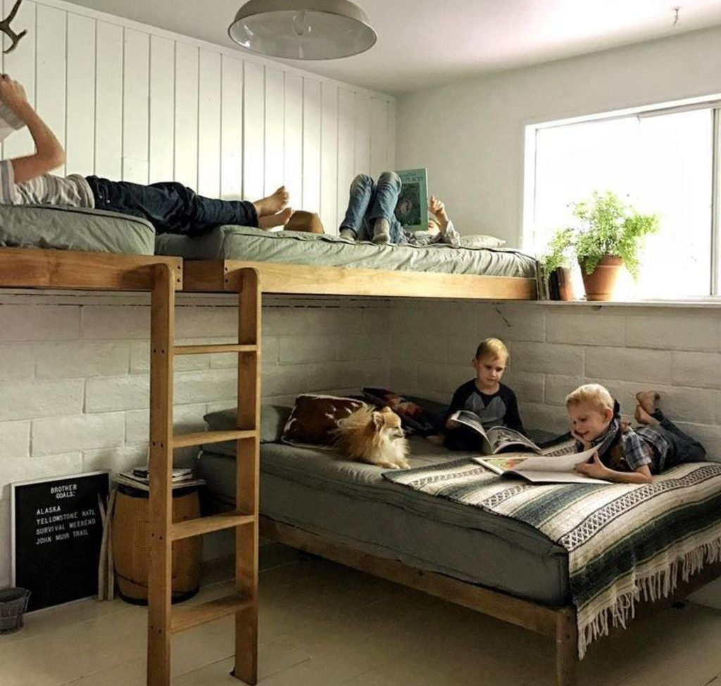 27 Cool Bunk Beds Design Ideas for Boys images