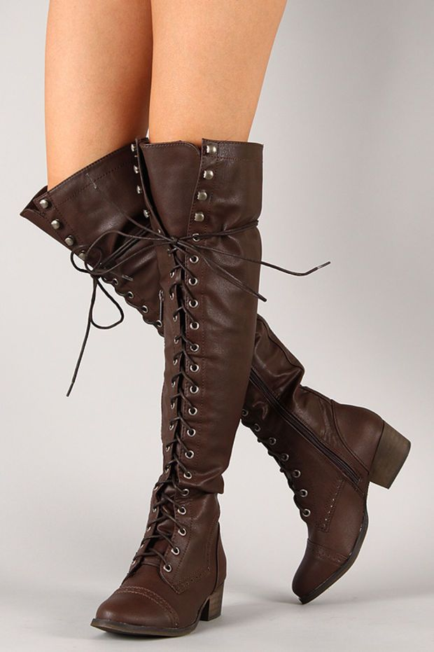 c0e33010818 Breckelle Alabama-12 Military Lace Up Boot