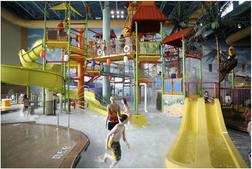 Splash And Play At Chicago Beyond Indoor Water Parks Illinois