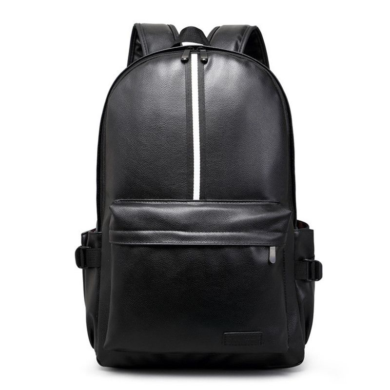 Preppy style backpacks Famous Brand Leather School Backpack Bag For College  Simple Design Casual Daypacks mochila b8885af5972e8
