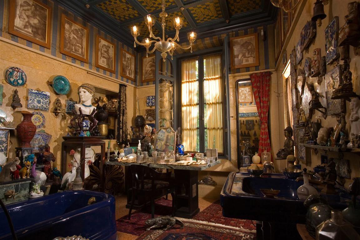 Fascinující vila básníka D'Annunzia
