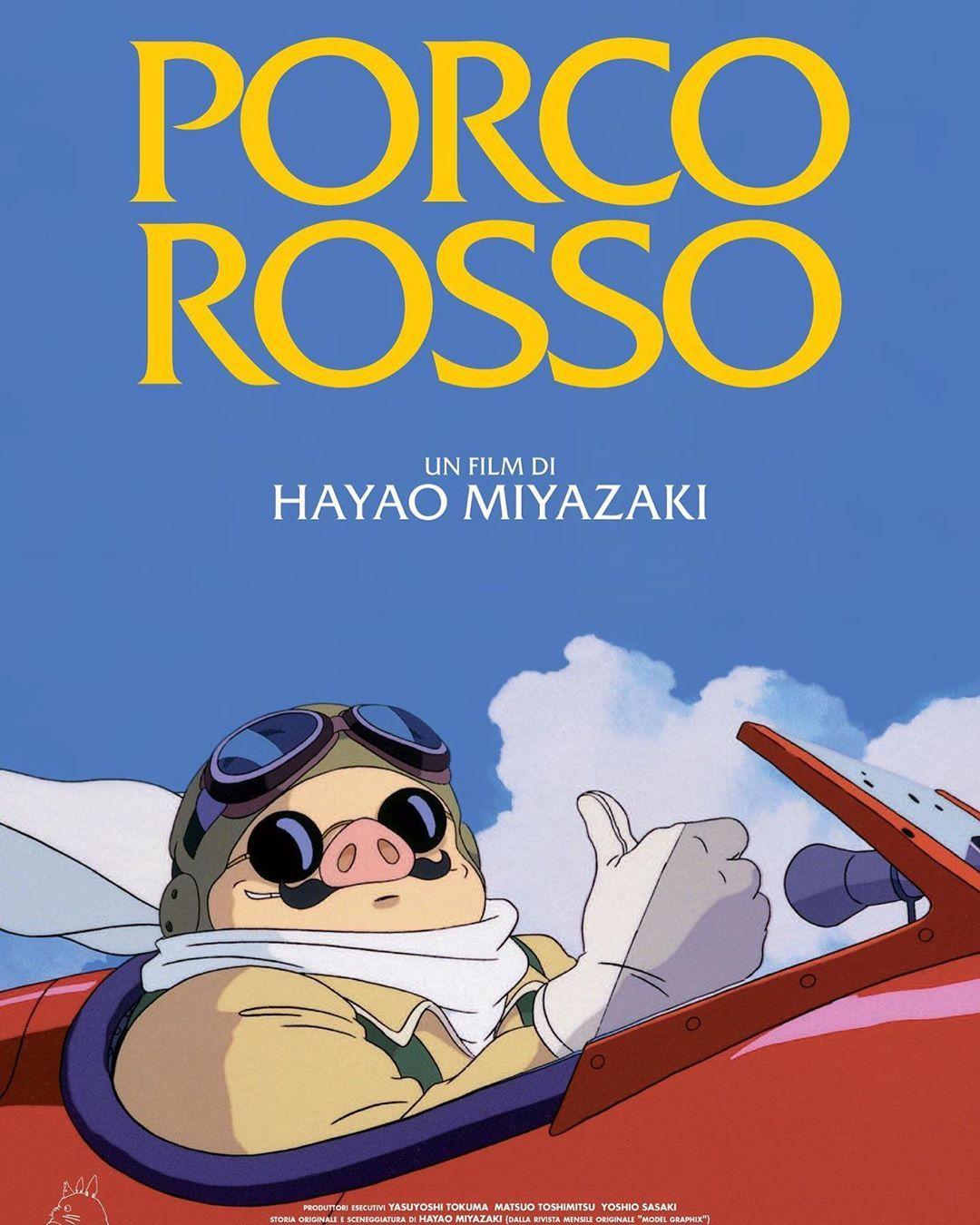 #movie #cinema #movies #animation #marvel #xmen #avengers #captainamerica #thor quot;Porco Rossoquot; (1992) de Hayao Miyazaki. (8/10)----------Basada libremente en un manga del propio Miyazaki, el genio detrs de Studio Ghibli tuvo uno de sus primeros grandes xitos internacionales con quot;Porco Rossoquot;. Ambientada en la Primera Guerra Mundial, la historia es una fantasa histrica de amor, adems de una declaracin antiblica que profesa libertad y esperanza para una humanidad en perodos de decad