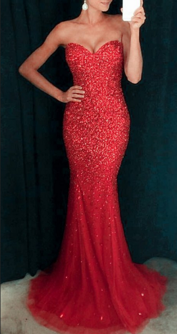 8bd353e1016a8 Sweetheart Prom Dresses,Lace Up Prom Dresses,Sparkly Prom Dresses,Mermaid  Prom Dresses,Red Prom Dresses,Sequin Shiny Prom Dresses,Gorgeous Prom  Dresses ...