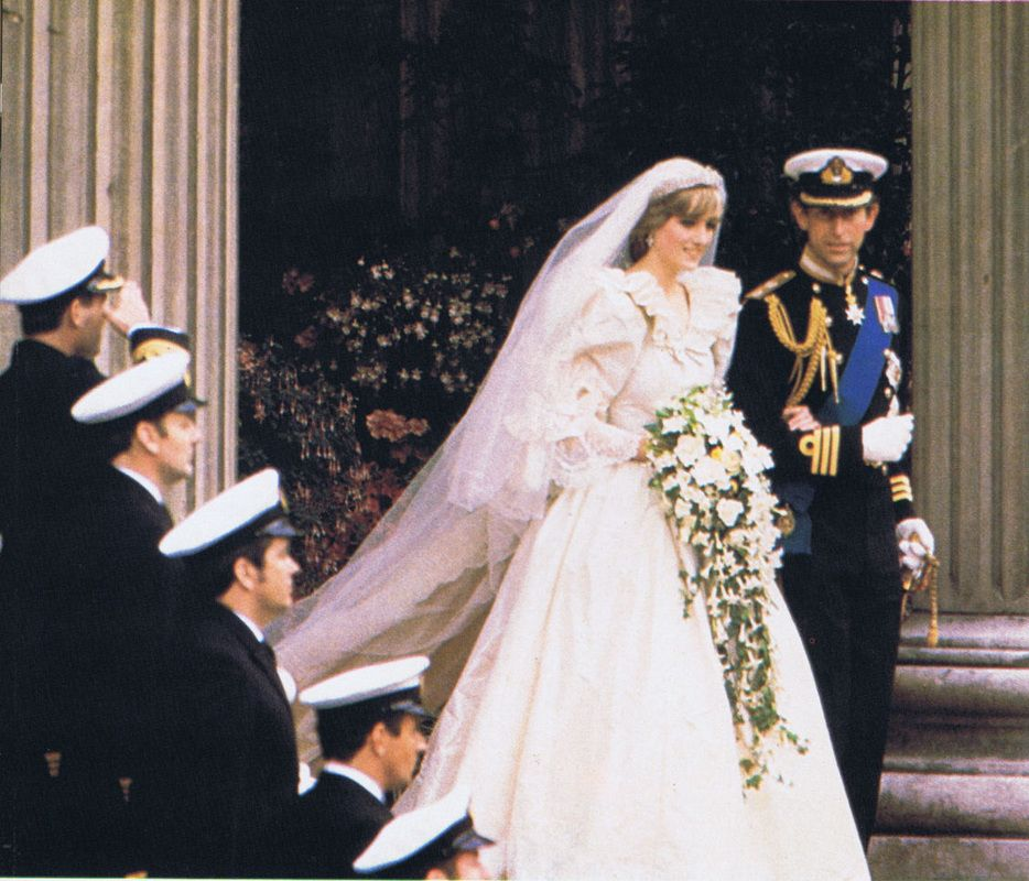July 29 1981 Lady Diana Spencer Marries Prince Charles At St Paul S Cathedral
