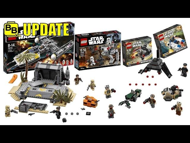 LEGO STAR WARS 2017 ROGUE ONE SET IMAGES! NEWS UPDATE - Video ...