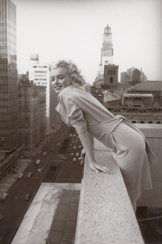 Ed Fergeinst, Marilyn Monroe, 1955