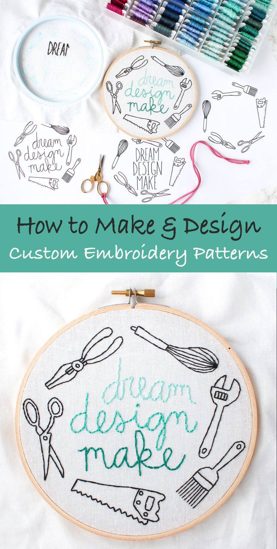 Dream design make free embroidery pattern embroidery patterns and