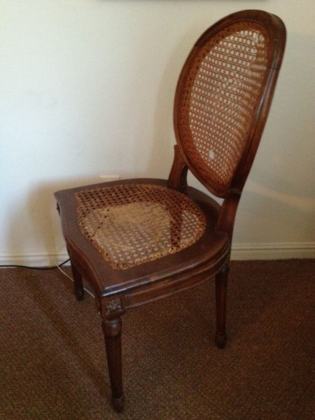 Wooden Cane Balloon Or Round Back Chairs On Kijiji Montreal