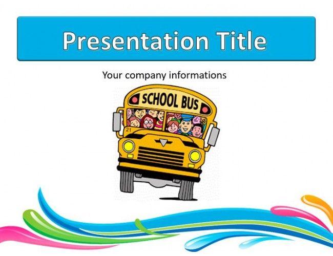 Download free school bus powerpoint templates powerpoint templates download free school bus powerpoint templates toneelgroepblik Images