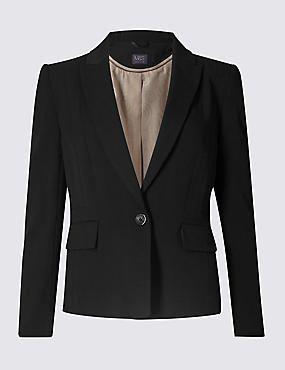 Long Sleeve 1 Button Jacket
