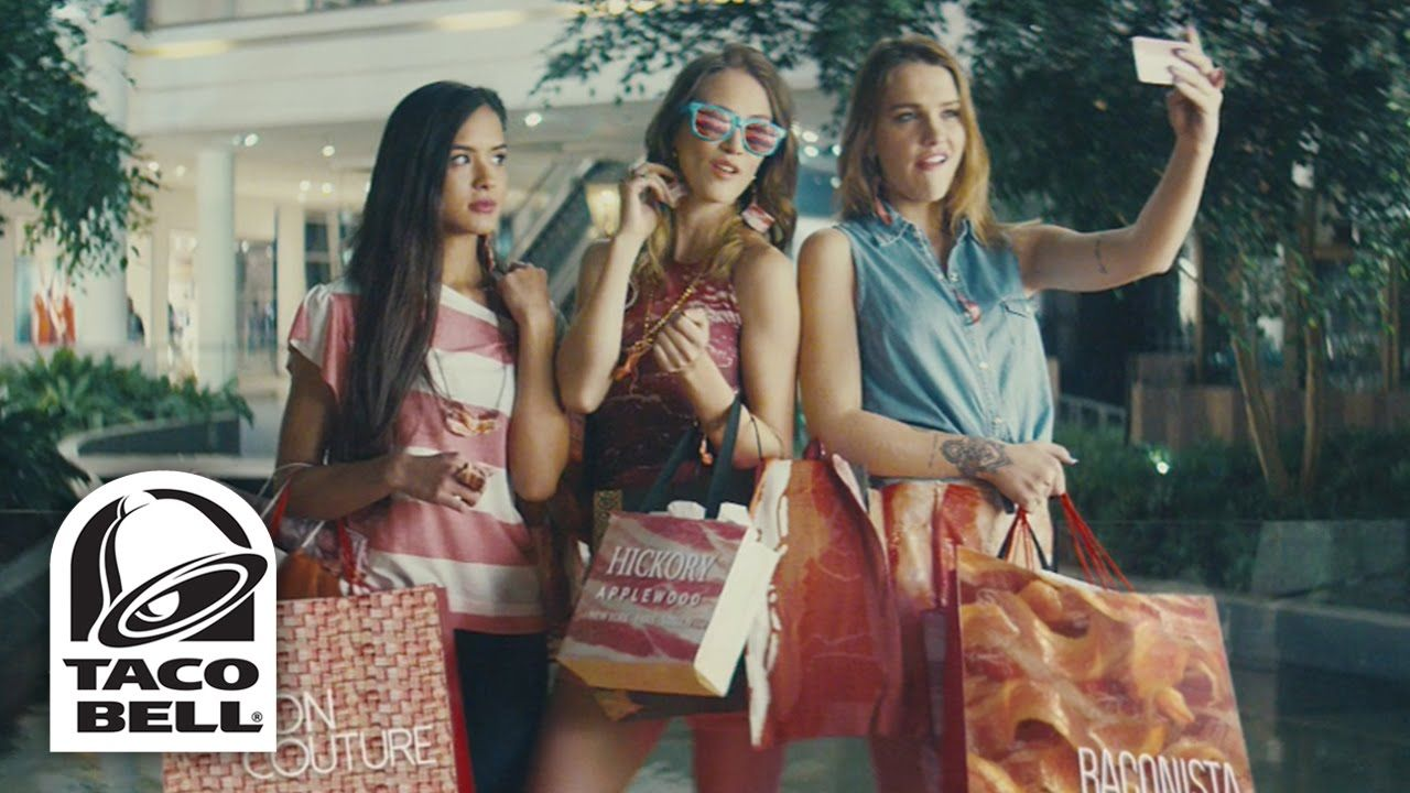 Bacon Mall | 2015 Taco Bell® Bacon Club Chalupa Commercial
