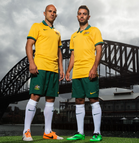 75cb977cf New Socceroos World Cup Jersey 2014 from FlagWigs.com