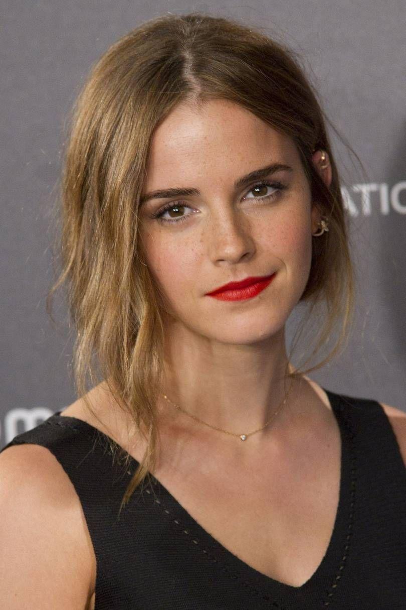 Emma Watsons hair & beauty: then vs now