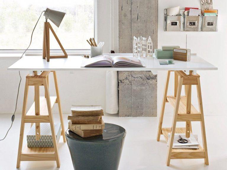 Où trouver des tréteaux design pour un bureau – Joli Place