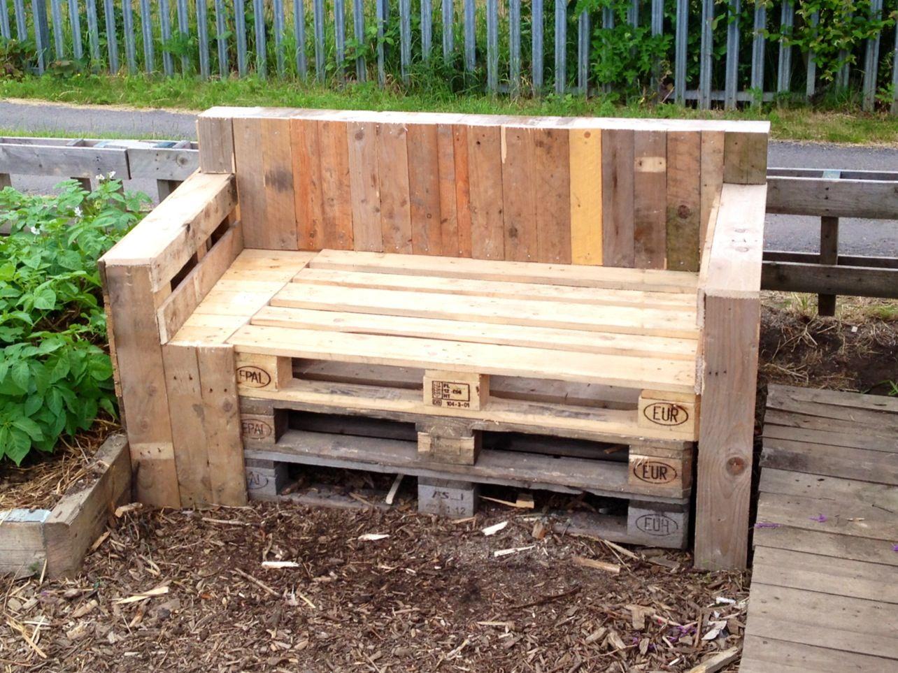 The new allotment sofa gardening pinterest for Garden allotment ideas