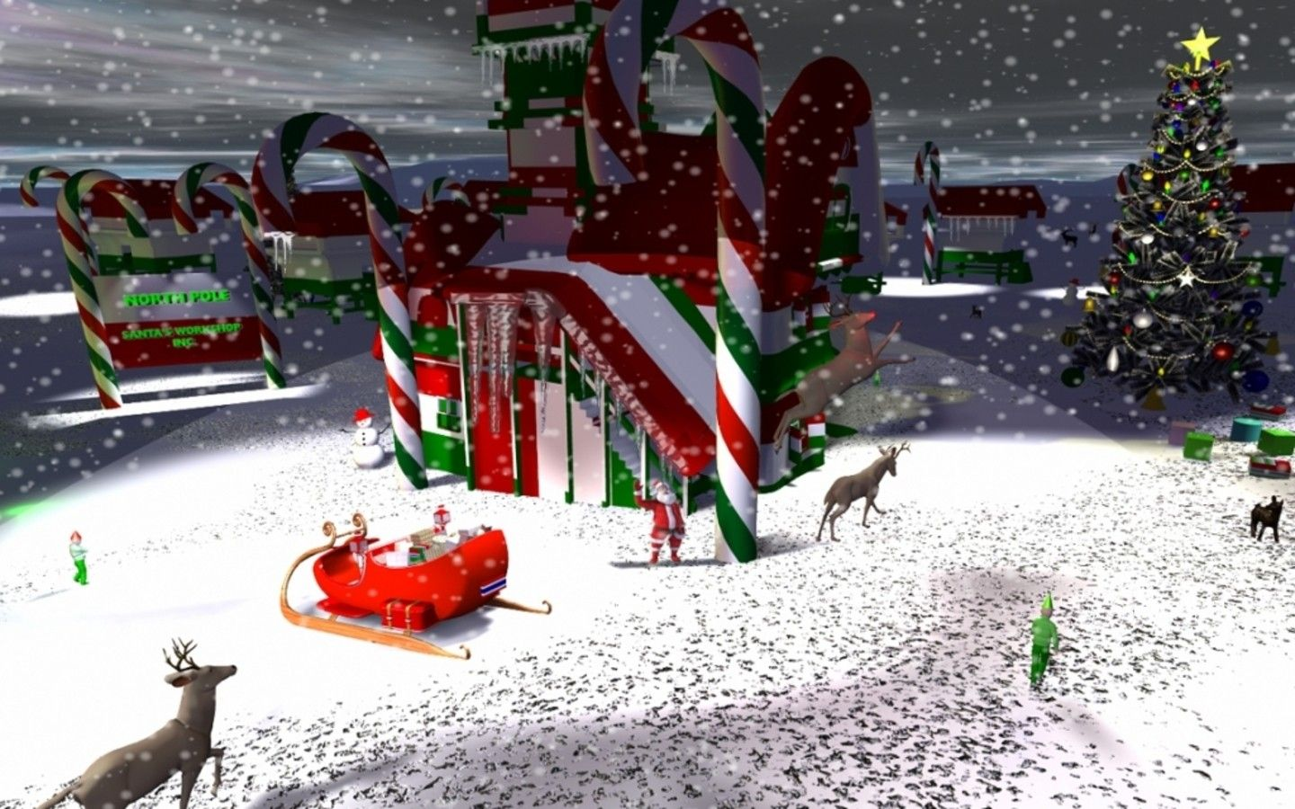 Northpole Christmas Wallpapers [HD] | Wallpapers High Definition ...