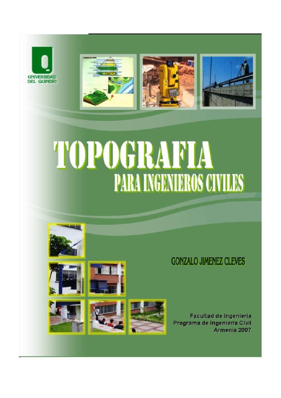 Topografia Para Ingenieros Civiles Topografia Ingeniero Civil Libros De Topografia