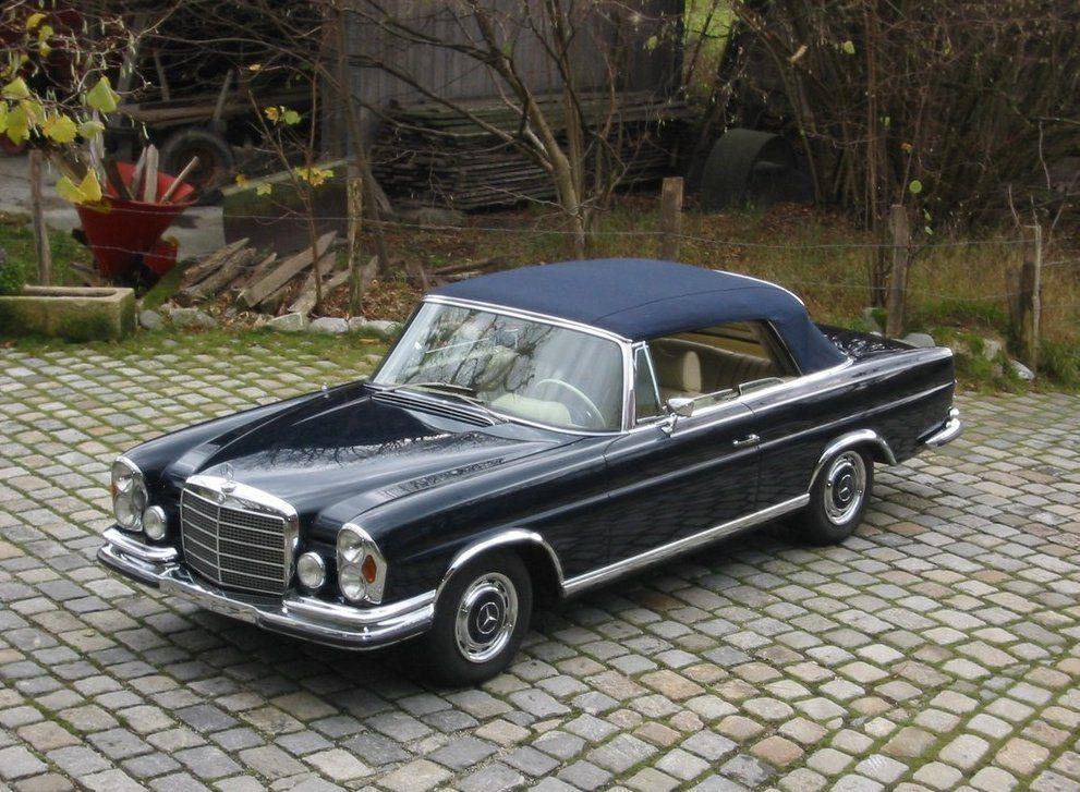 1971 mercedes-benz 280 se 3.5 cabriolet   mercedes-benz amg steyr