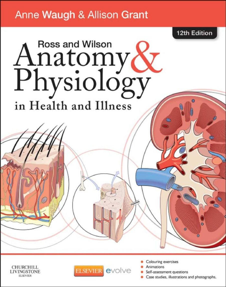 Ross and Wilson Human Anatomy and Physiology PDF 12th Edition ...