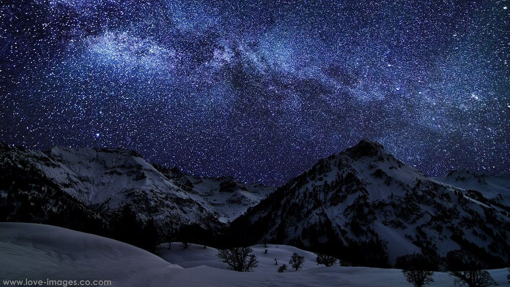 Download Top Best Ultra Hd 4k Computer Desktop Wallpapers Night Skies Winter Sky Sky