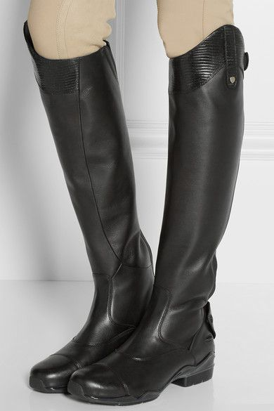 Ariat | Volant S leather riding boots | NET-A-PORTER.COM | shoes ...