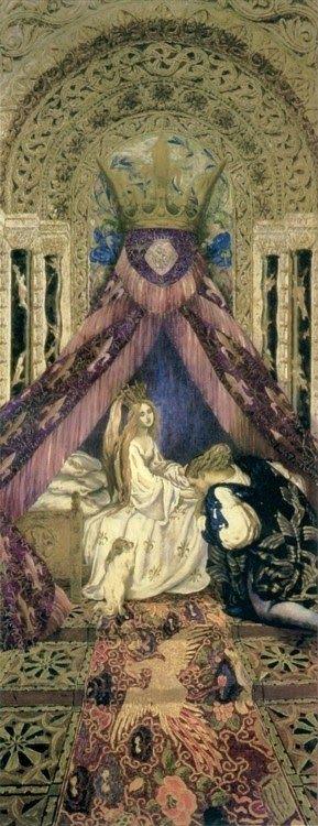 Seraph + Splendor: {CONJURING CAMELOT} The Bedchamber