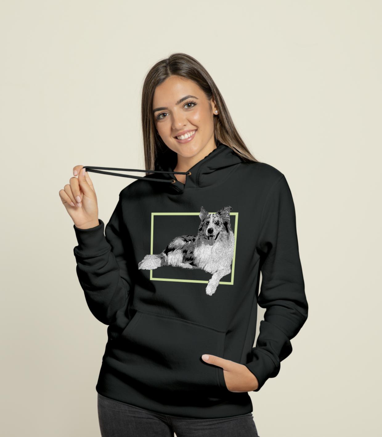 Unisex Custom Hoodie Custom Hoodies Personalized Sweater Hoodies [ 1418 x 1240 Pixel ]