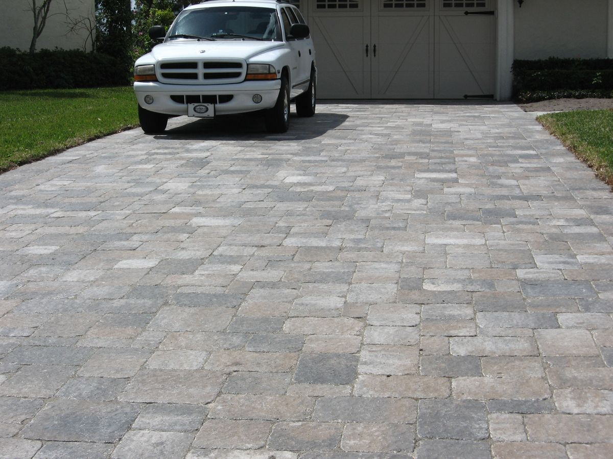 Brick Pavers | Thumbs Brick Paver Driveway Orlando Stone And Pavers