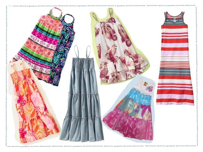Maxis for little girls...so cute, i wish i was little