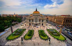 Bellas Artes, México City