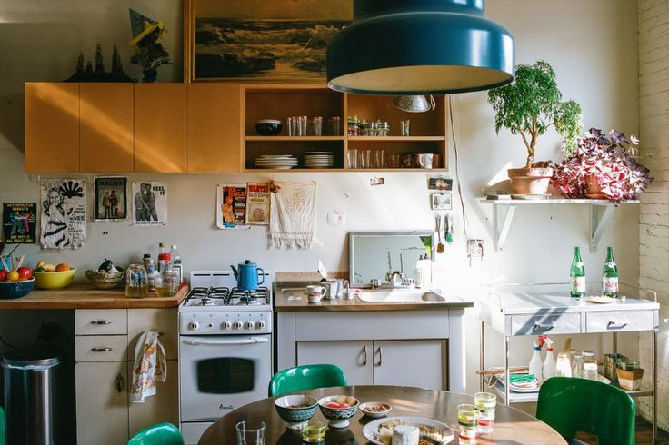 A Kitchen With Vintage Character: Kitchen's With Character