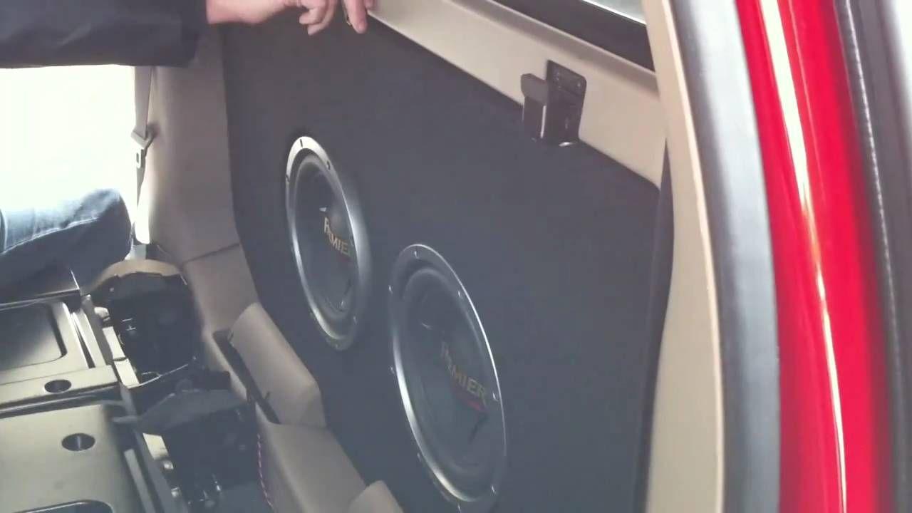 Custom stereo system 2004 chevy avalanche