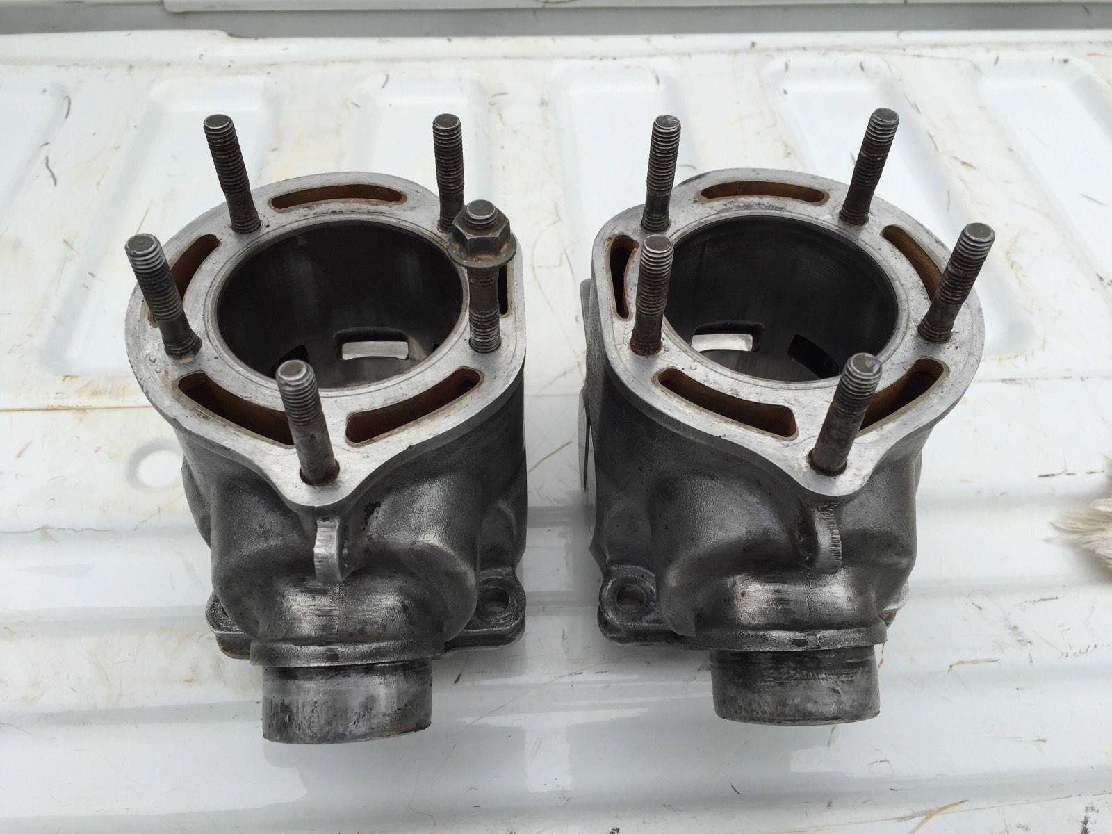 medium resolution of banshee ported 66mm stock cylinders with pistons with pistons cylinders stock ported banshee
