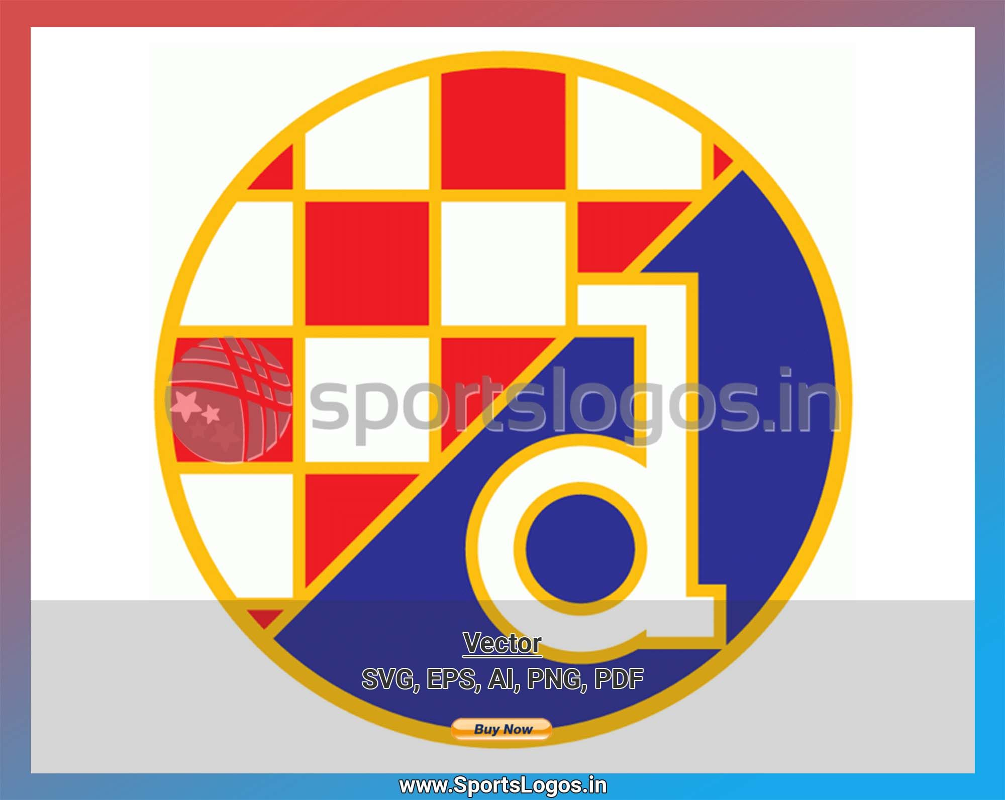 Gnk Dinamo Zagreb Soccer Sports Vector Svg Logo In 5 Formats Spln001620 Sports Logos Embroidery Vector For Nfl Nba Nhl Mlb Milb And More In 2020