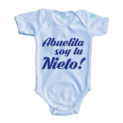 b8e2d9326 Body Bebe Abuelita soy tu nieto/a | estampados | Camisetas bebe ...