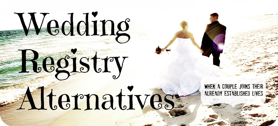 Alternatives to the traditional wedding registry Online