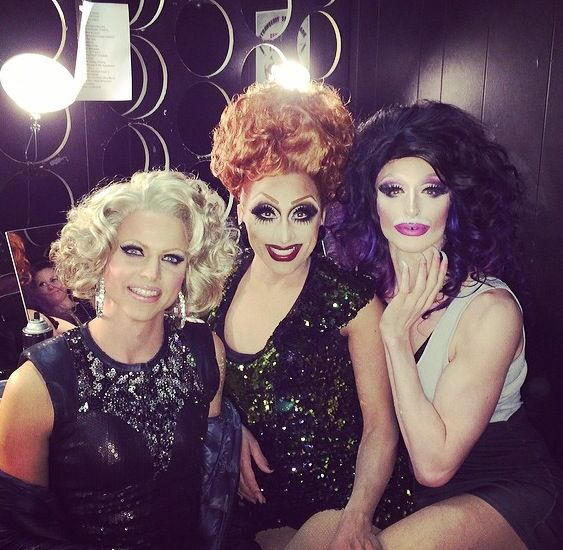 Courtney Act, Bianca Del Rio and Milk