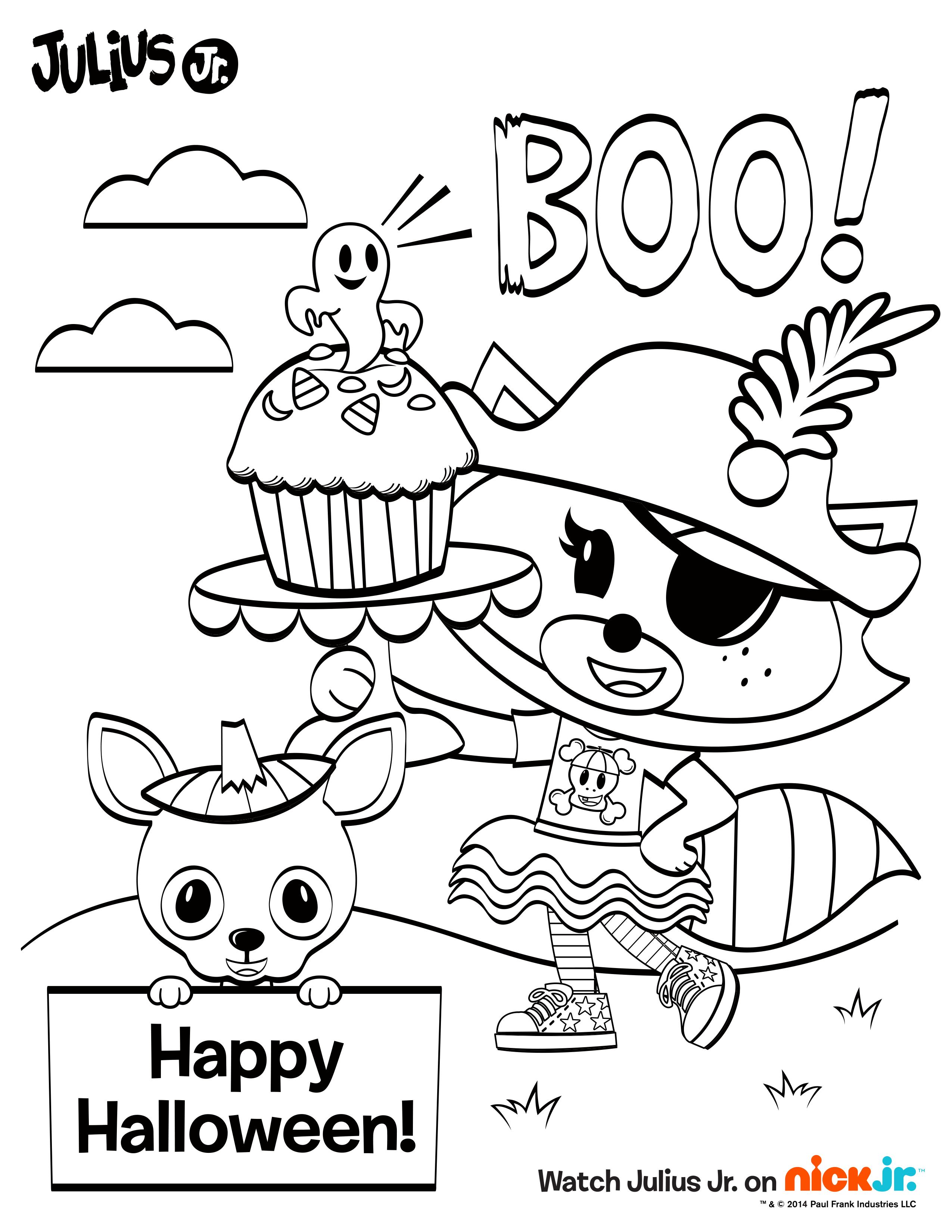 boo  your kids will love coloring this fun  juliusjr