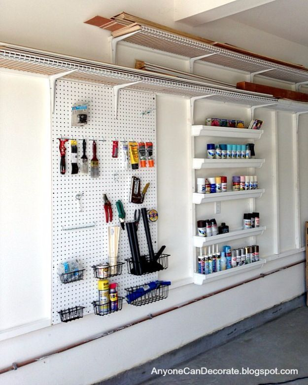 Organize Your Garage Ideas Part - 18: DIY Projects Your Garage Needs - Garage Storage On A Budget - Do It  Yourself Garage Makeover Ideas Include Storage, Mudroom, Organization,  Shelves,u2026